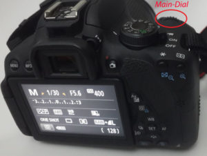 EOS Rebel T5i Tips change the point of focus